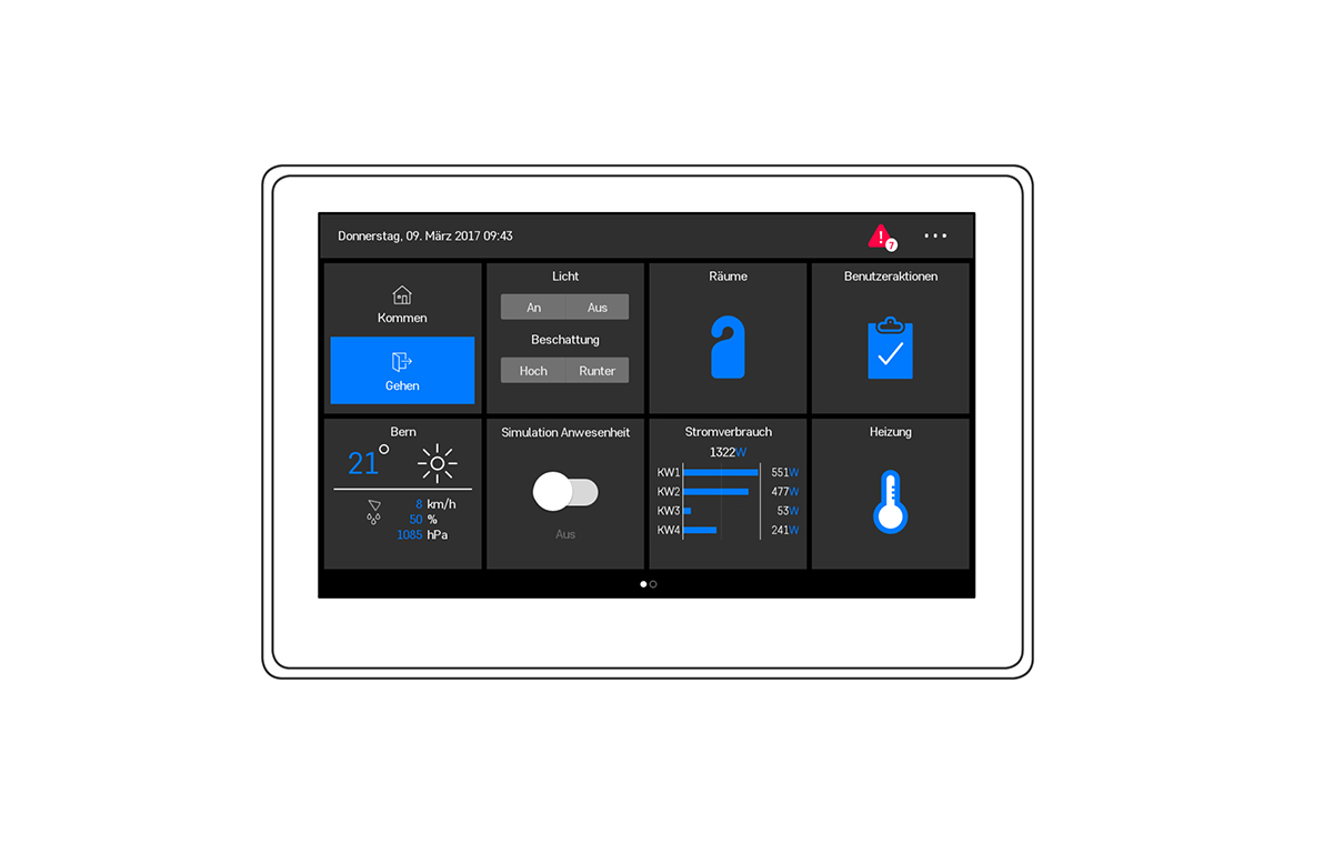 smart home tablet sven