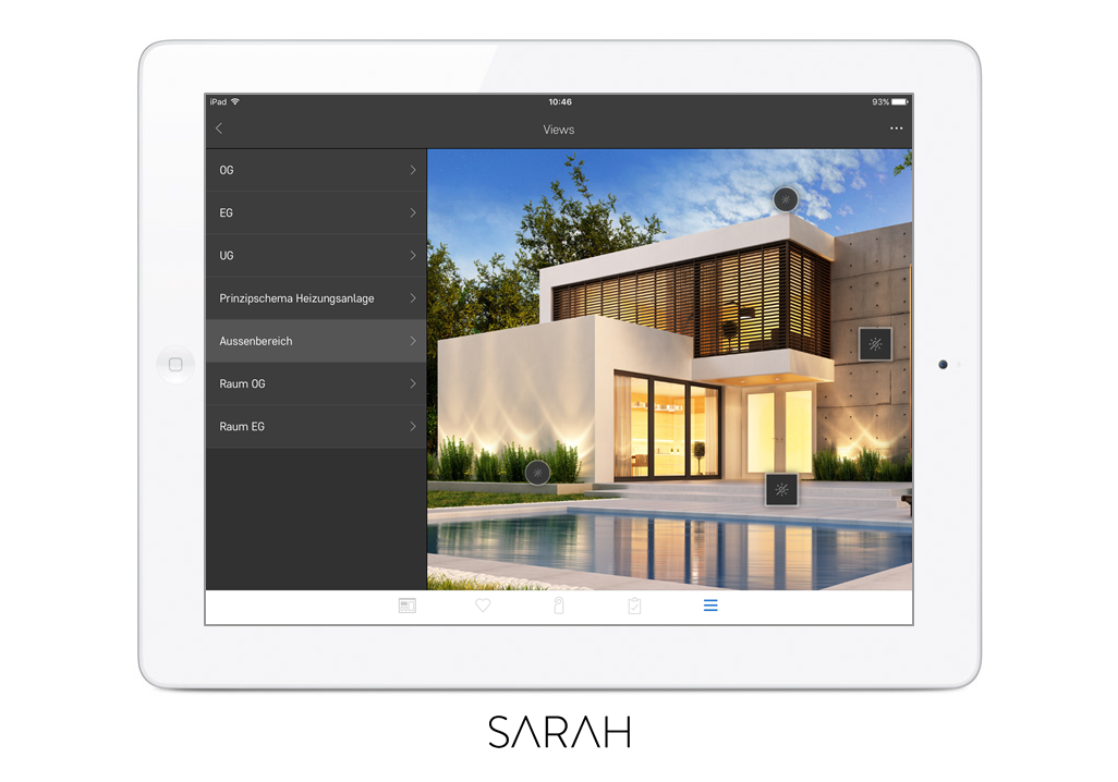 sarah iPad Favoriten