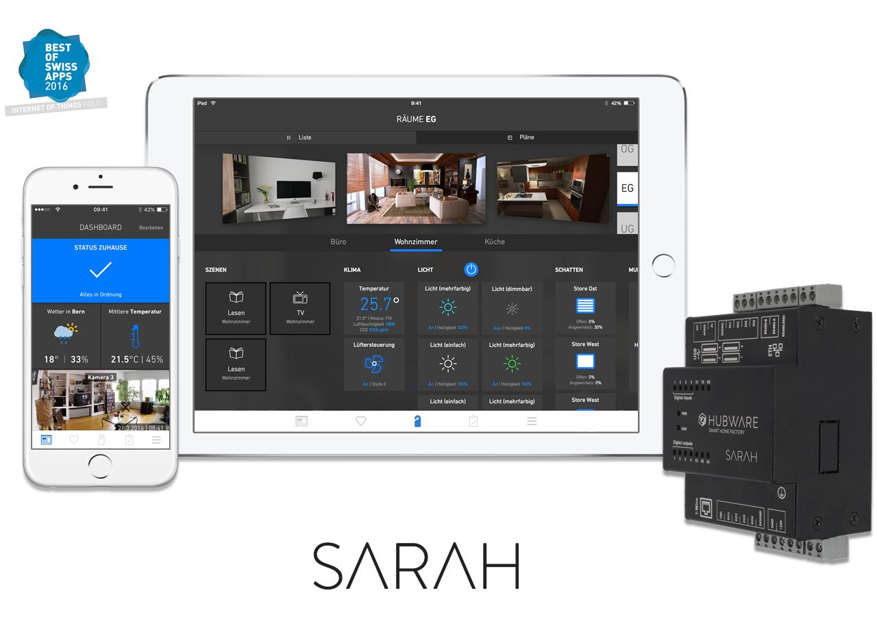 SARAH UI und Server