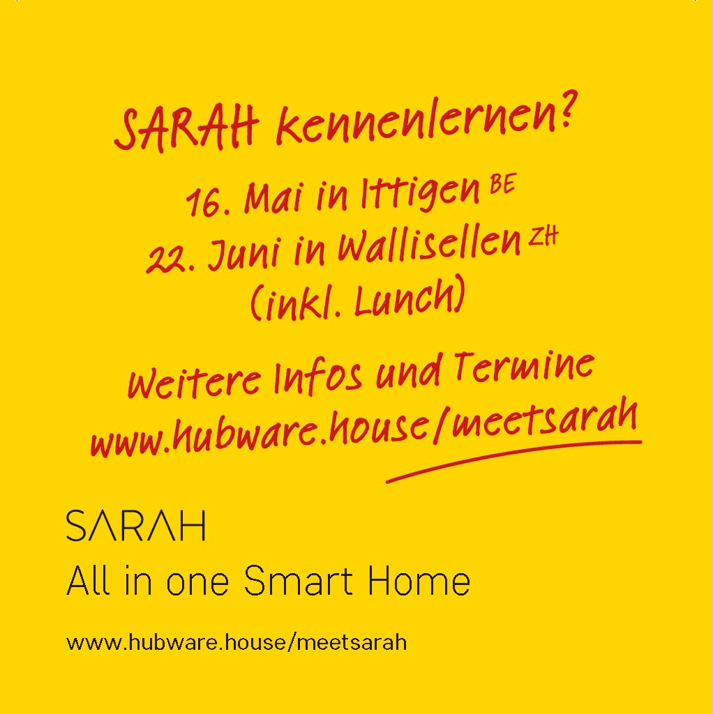 SARAH Smart Home Schulung
